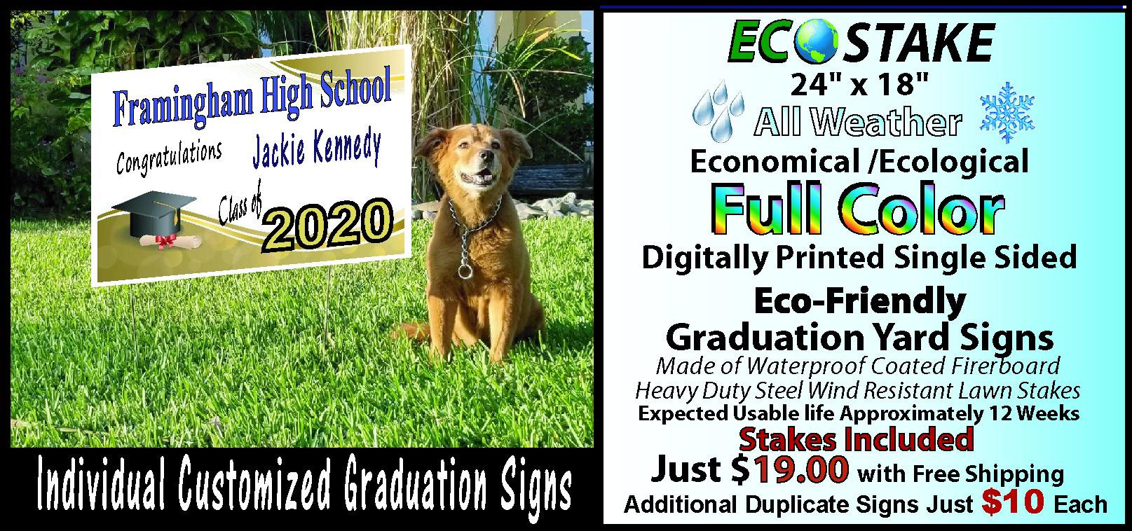 Individual Graduation Signs