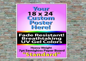 """18"""" x 24"""" Wall Posters"""