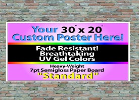 """30"""" x 20"""" Wall Posters"""