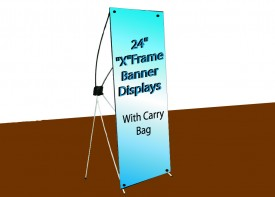 "24"" x 63""             XFrame Display"