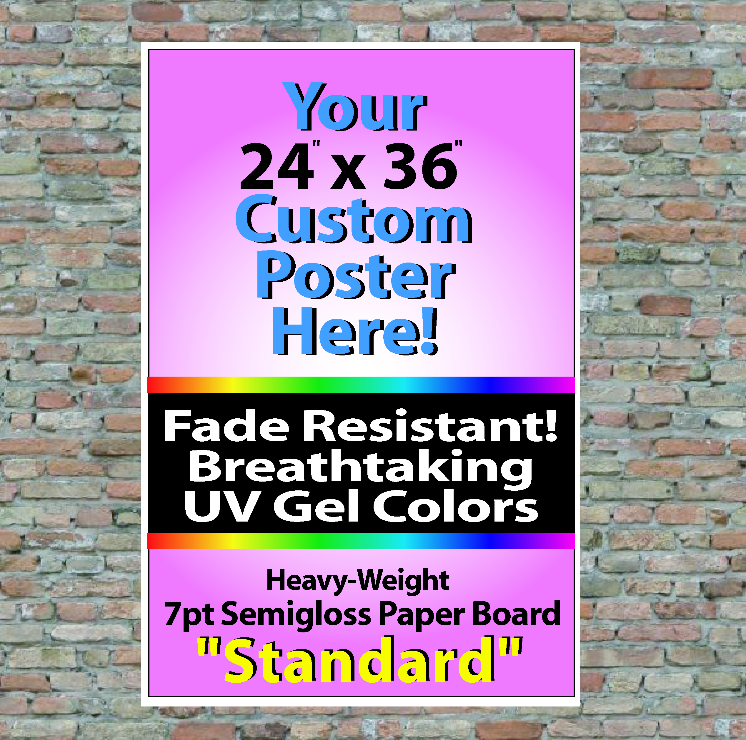 """24"""" x 36"""" Wall Posters"""